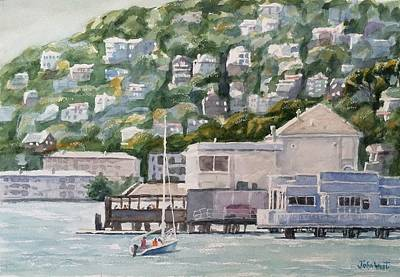 Scoma's Sausalito Poster by John West