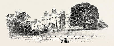 Scone Palace, Perth, Uk. Scone Palace Is A Category Poster by Georgian School