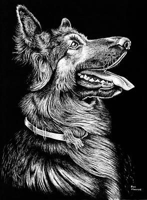 Scoob In Art Pen Poster
