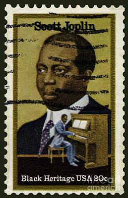Scott Joplin Stamp Poster
