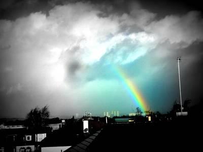 Scottish Rainbow Poster