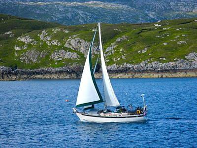 Scottish Sails Poster