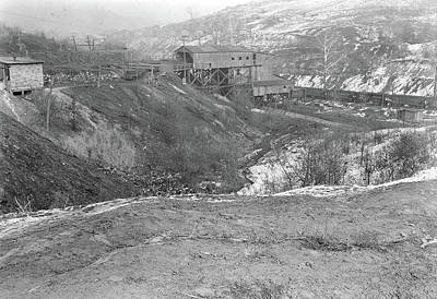 Scotts Run, West Virginia. Chaplin Hill Mine Tipple - This Poster