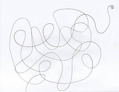 Scribble For 'banana Split' Poster