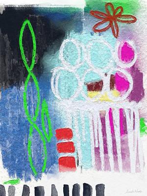 Sculpture Garden- Abstract Art Poster