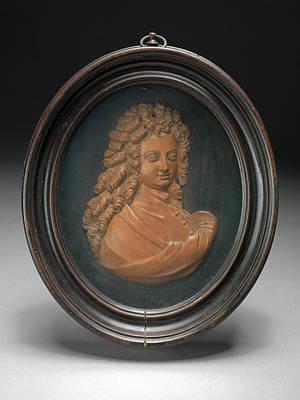 Sculpture, Profile Portrait Of William Congreve Poster by Litz Collection