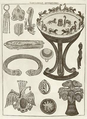 Scythian Antiquities Poster by Middle Temple Library