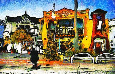 Sea Barn Avila Beach California Poster