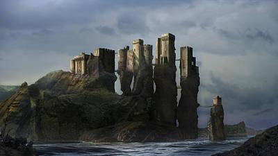 Sea Castle Poster