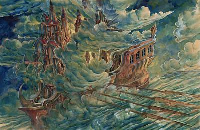 Sea Engine Poster