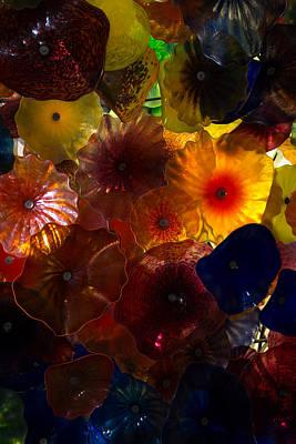 Sea Flowers And Mermaid Gardens Poster