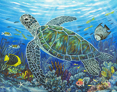 Sea Friends Poster