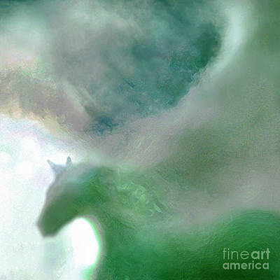 Sea Glass Storm Poster