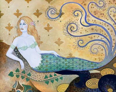 Sea Goddess Poster by B K Lusk