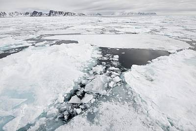 Sea Ice, Norway Poster by Science Photo Library