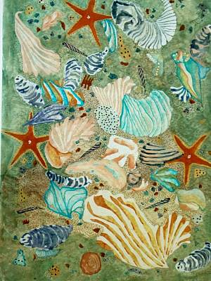 Sea Life Poster by David Raderstorf