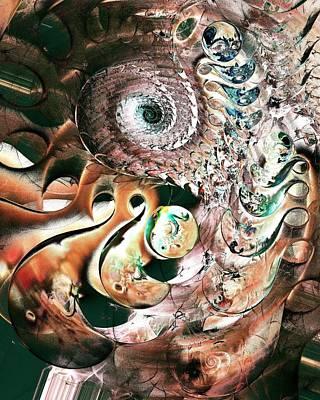 Sea Monster Poster by Anastasiya Malakhova
