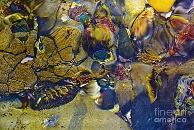 Sea Mosaic Series Poster