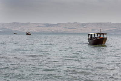 Sea Of Galilee Tiberias Israel Poster by Ronald Jansen