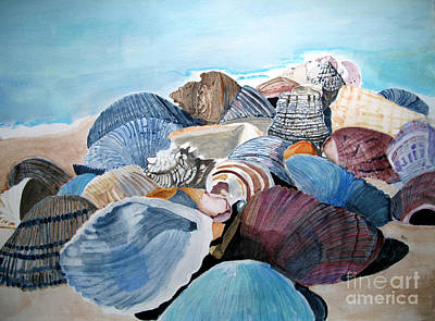 Sea Shells Poster by Sandy McIntire