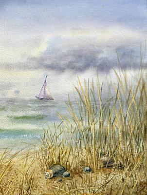 Sea Shore Poster by Irina Sztukowski