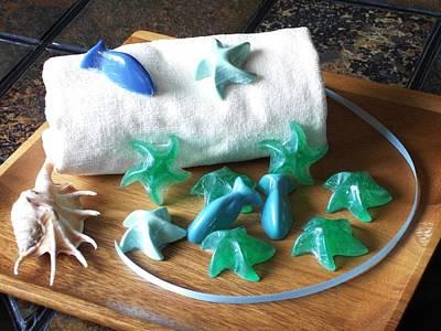 Sea Stars Mini Soap Poster by Anastasiya Malakhova