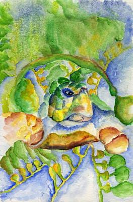 Sea Turtle Hideaway Poster