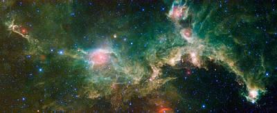 Seagull Nebula Poster