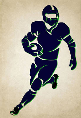 Seahawks Shadow Player Poster