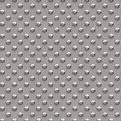 Seamless Metal Texture Rhombus Shapes 2 Poster