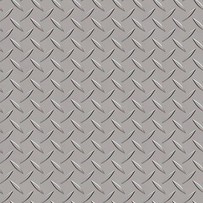 Seamless Metal Texture Rhombus Shapes 3 Poster