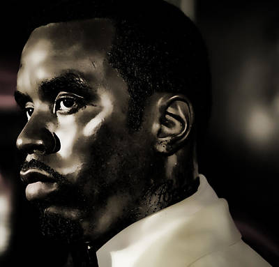 Sean John Combs Poster by Lee Dos Santos