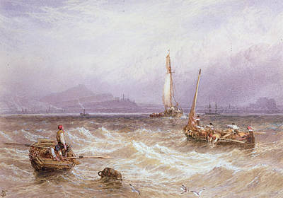 Seascape Poster by Myles Birket Foster