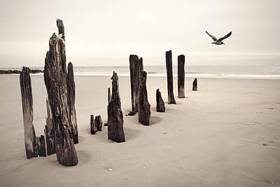 Seaside Poster by Gary Heller
