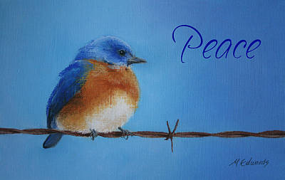 Season Of Peace Poster by Marna Edwards Flavell