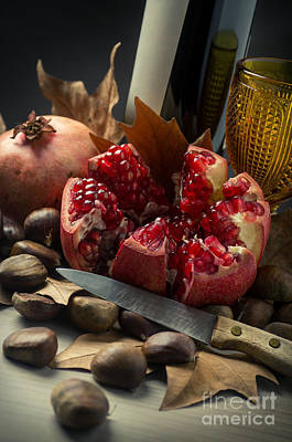 Seasonal Still-life Poster by Carlos Caetano
