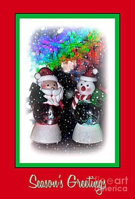 Season's Greetings By Kaye Menner Poster