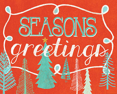 Seasons Greetings Poster by Mary Urban