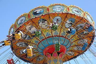 Seaswings At Santa Cruz Beach Boardwalk California 5d23908 Poster