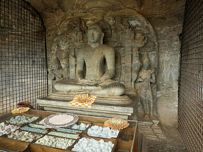 Seated Buddha Figure Called Poster by Panoramic Images