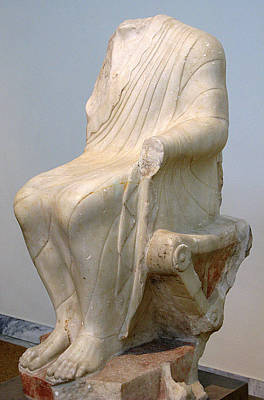 Seated Dionysos Poster