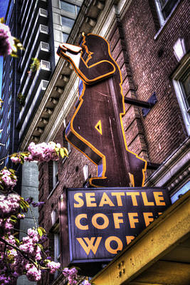 Seattle Coffee Works Poster by Spencer McDonald