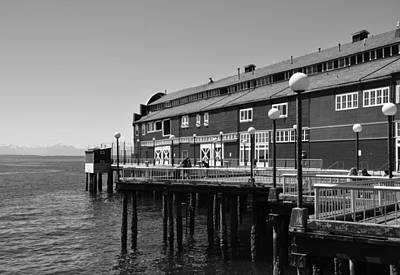 Poster featuring the photograph Seattle Pier by Kirt Tisdale