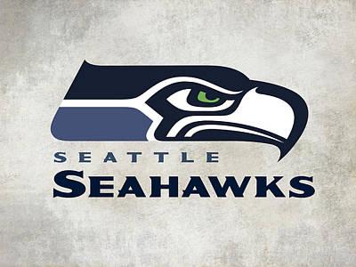 Seattle Seahawks Fan Panel Poster by Daniel Hagerman