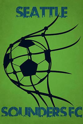 Seattle Sounders Fc Goal Poster by Joe Hamilton