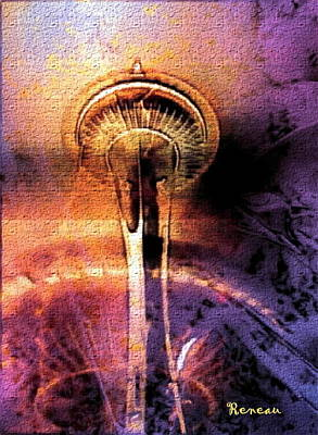 Seattle Wa Space Needle Poster
