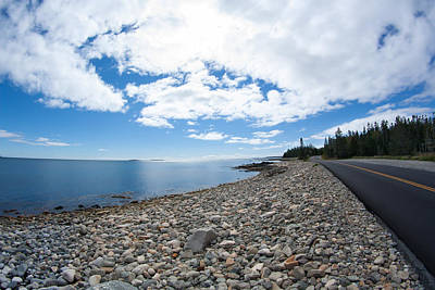 Poster featuring the photograph Seawall - Acadia by Kirkodd Photography Of New England