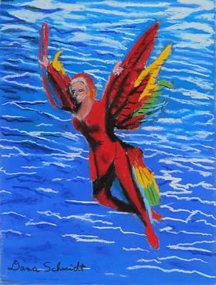 Seaworld Acrobat Poster