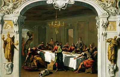 Sebastiano Ricci, The Last Supper, Italian Poster