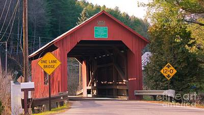 Second Covered Bridge. Poster